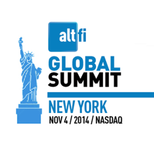 AltFi Global Summit 2014 featuring Peerform Chairman Gregg Schoenberg