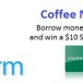 Coffee Not Credit – Gift Card Promotion